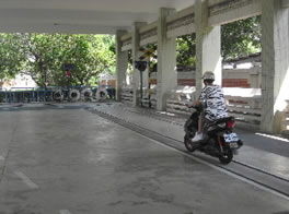 Practice Facilities for Motorcycles and Scooters